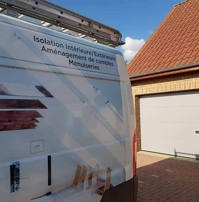 Pose de porte de garage dans le Nord-Pas-De-Calais